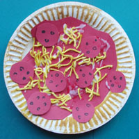 Paper Plate Pizza  sc 1 st  KidsSoup & Pizza Preschool Activities Crafts Games and Printables | KidsSoup