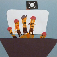 pirate ship craft ideas preschool and kindergarten activities crafts and 5208