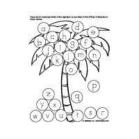image regarding Chicka Chicka Boom Boom Tree Printable named Chicka Chicka Increase Increase Letters of the Alphabet Preschool