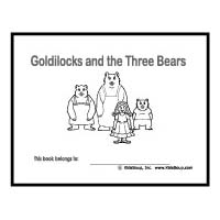 Goldilocks and The Three Bears Coloring Pages and Printable Activities | 200x200
