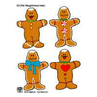 The Gingerbread Man Crafts, Activities, Games, and Lessons | KidsSoup