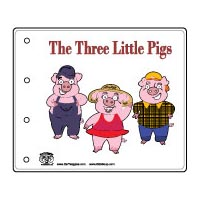 photograph regarding Three Little Pigs Story Printable called 3 Very little Pigs Pursuits, Crafts, Courses, Video games, and