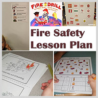 Firefighter and fire safety activities lessons and crafts kidssoup in the classroom fire safety lesson plan ibookread Read Online
