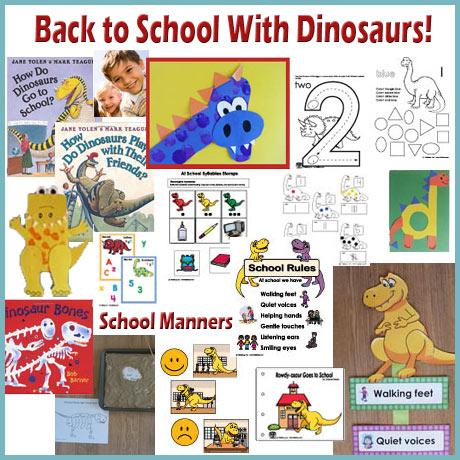 Back to School Preschool Activities, Games, and Printables