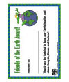 earth day award printable