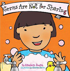 Germs are not for sharing activities