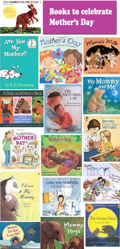 Books to celebrate Mother's Day