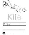 kite writing