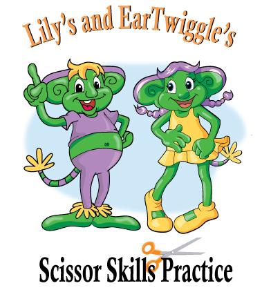 Lily and Twiggi's Scissor Skills Practice Workbook for Preschool