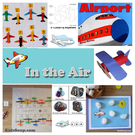 Airplane Craft Activities For Toddlers