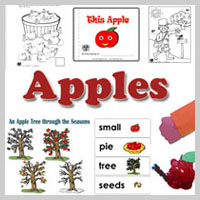 preschool and kindergarten Apples Activities and Crafts