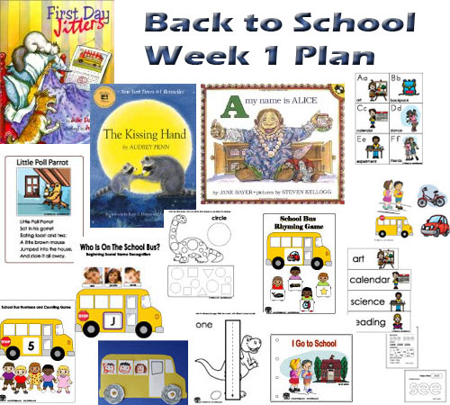 Back To School With Dinosaurs Week 1 Kidssoup