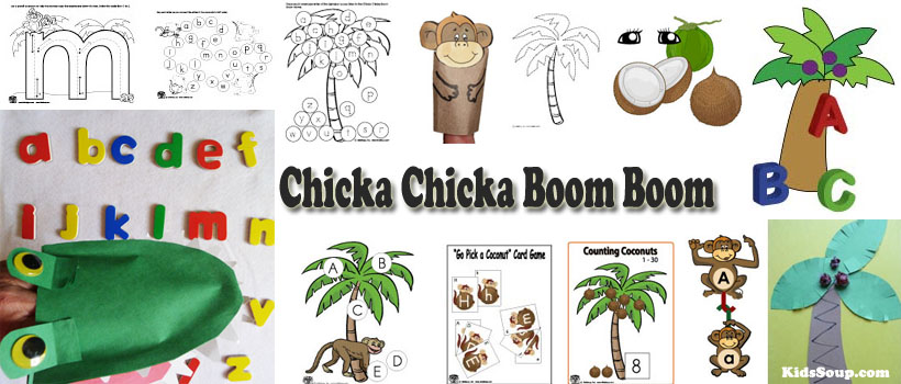 math worksheet : chicka chicka boom boom letters of the alphabet preschool  : Chicka Chicka Boom Boom Worksheets For Kindergarten