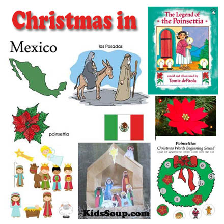 Christmas in Mexico Ideas for the Classroom | KidsSoup