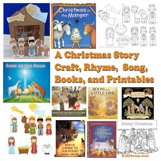 a christmas story craft books and activities - Christmas Story For Toddlers