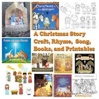 Preschool Kindergarten Christmas Nativity Books and Activities