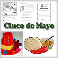 Preschool Kindergarten Cinco de Mayo Activities and Crafts