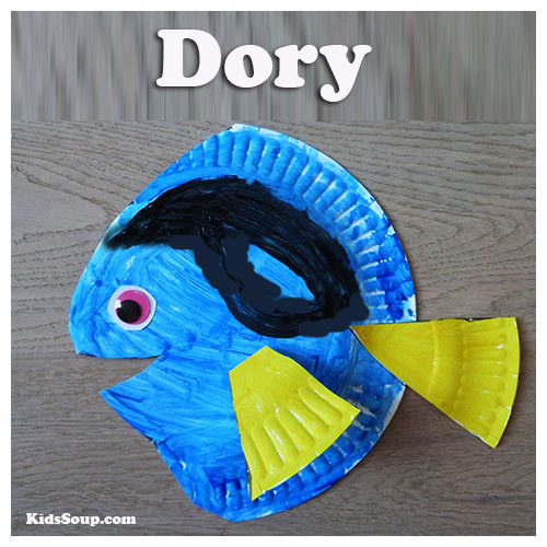 Dory craft for preschool and kindergarten