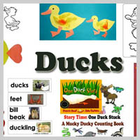 Preschool Kindergarten Ducks Activities and Crafts