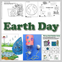 preschool and kindergarten Earth Day activities and crafts