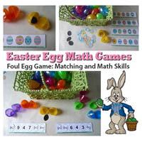 Preschool Kindergarten Easter Eggs Math Activities