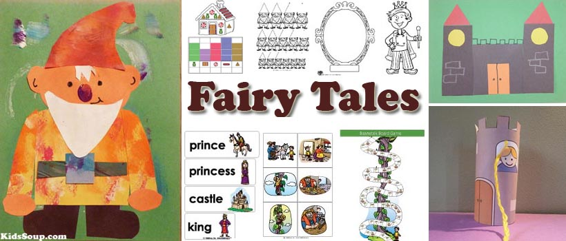 Fairy Tales Preschool Activities, Crafts, and Printables | KidsSoup