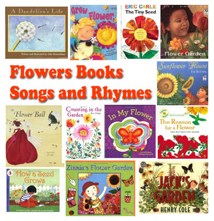 Flowers Rhymes Songs And Books For Preschool Kindergarten