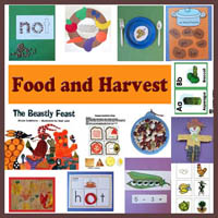 Preschool Kindergarten Food and Harvest Activities
