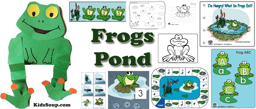 preschool and kindergarten pond activities and crafts