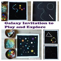 Preschool Kindergarten Space Fine Motor Skills Activity