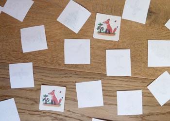 The Gruffalo preschool matching game