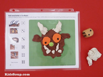 Preschool Gruffalo game and activity
