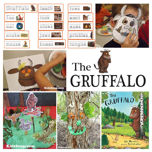 The Gruffalo preschool activities, crafts, and games