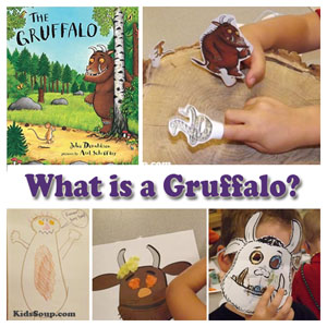 The Gruffalo preschool lesson and activities