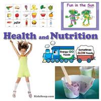 Preschool and kindergarten Fun in the Sun Online Book and Activities