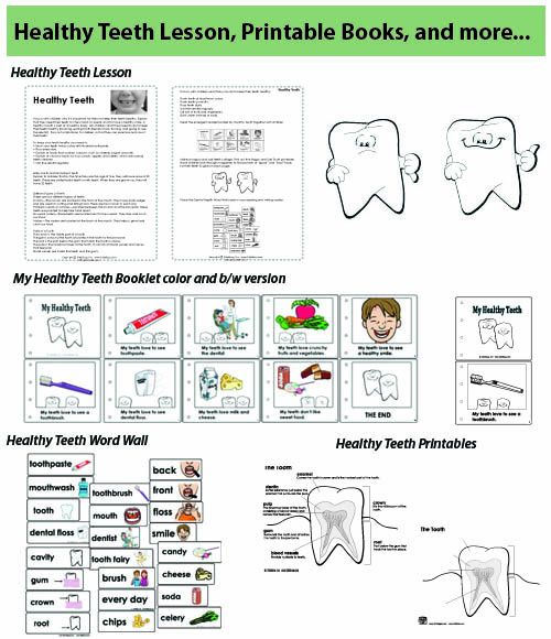 photograph relating to Dental Health Printable Activities called Kindergarten and Preschool Healthier Tooth Classes and