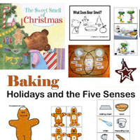 Preschool, Kindergarten Christmas Holiday Baking Activities