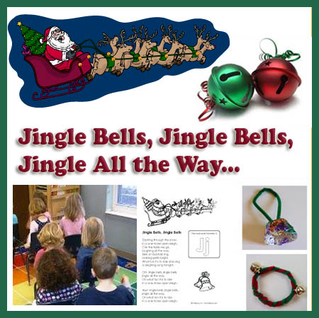 Jingle Bells Song Crafts And Activities