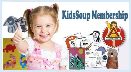Preschool and Kindergarten KidsSoup Membership