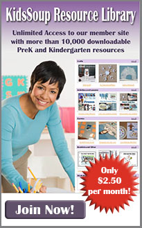 KidsSoup Resource Library Membership for preschool and kindergarten