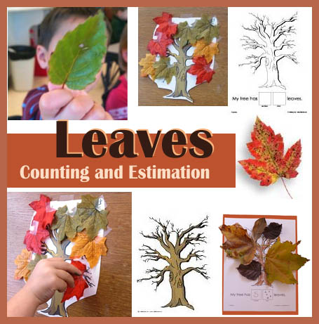 Fall and Autumn Leaves Preschool Lesson and Activities