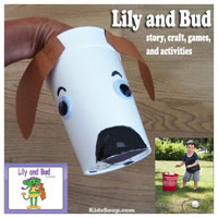 Preschool Kindergarten Dog Craft and Activities