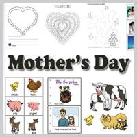 Preschool, Kindergarten Mother's Day Activities and Crafts