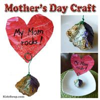 Preschool Kindergarten Mother's Day Craft