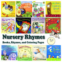 Preschool and Kindergarten Nursery Rhymes and Books