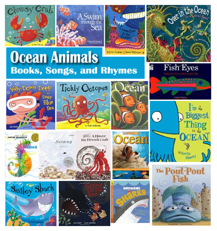 Ocean Animals Books Songs And Rhymes For Preschool Kindergarten