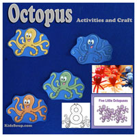Preschool Kindergarten Octopus Booklet and Activities