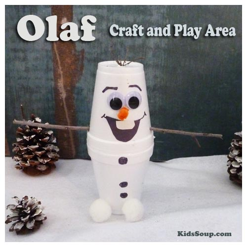 Olaf Kids Craft And Small World Play Area Kidssoup
