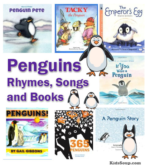 Penguins Rhymes, Felt Stories, Songs, and Books | KidsSoup