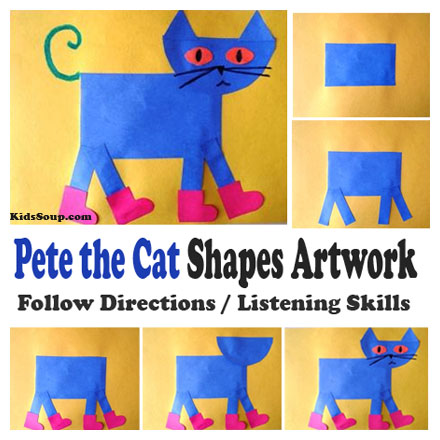 Pete The Cat A Pet For Pete Activities